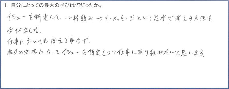 キャバクラ社員研修(クリティカルシンキング)1-1