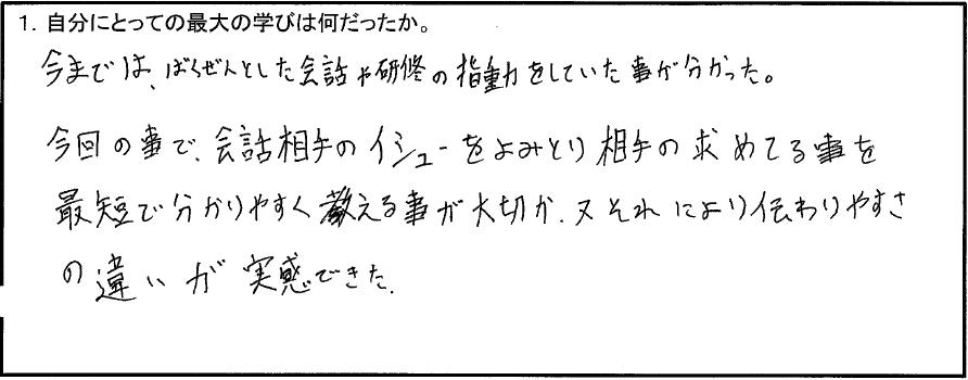 キャバクラ社員研修(クリティカルシンキング)1-2